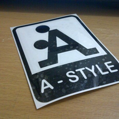 JDM Style Sticker A style  A style 10x7cm 7rb