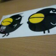 JDM Style Sticker bird mascot