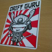 JDM Style Sticker drift guru