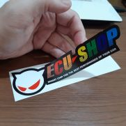 JDM Style Sticker ecu new warna
