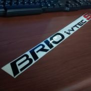 JDM Style Sticker door sticker BRIO S