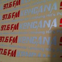Cutting Sticker kencana FM  kencana fm
