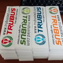 Print & Cut Sticker trubus led  trubus led