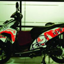Motorcycle Graphic  vario A