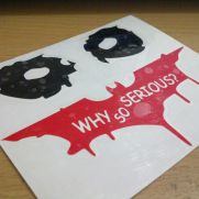 JDM Style Sticker why so serious